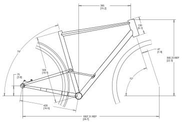 CXP-01 Frame Dimensions